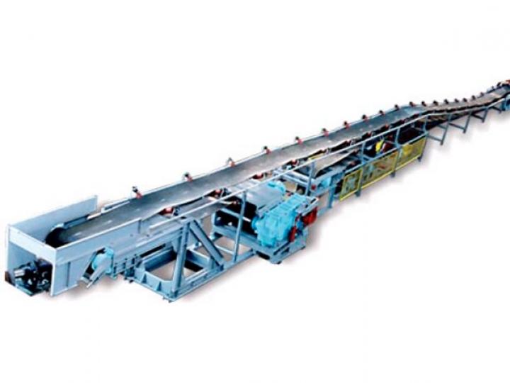 Конвейер ленточный для руды транспортер б у зерно